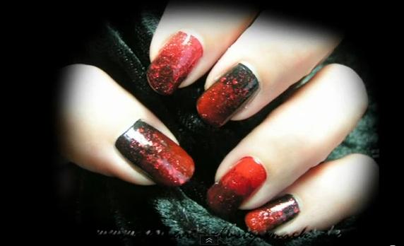Halloween Nails Anleitung