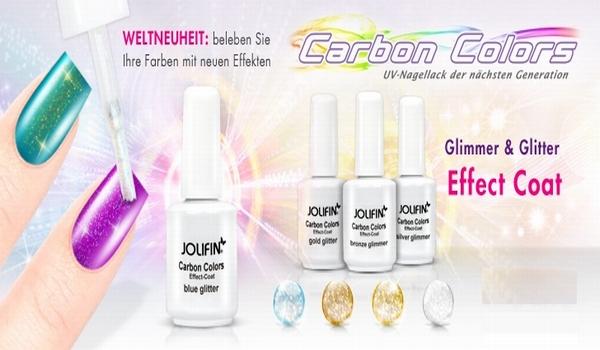 UV-Nagellack Carbon Colors