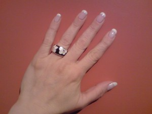 French Manicure Anleitung